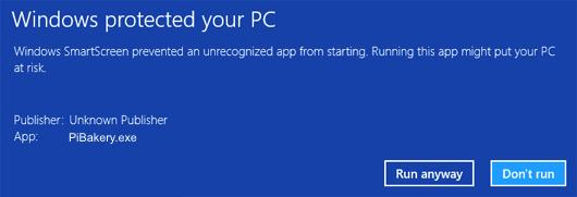 Installing PiBakery on Windows